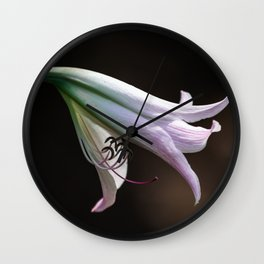 Elegant Flower Wall Clock