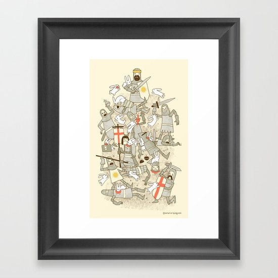 Bad Tempered Rodents Framed Art Print