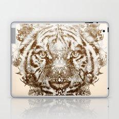 The White Tiger (Gold Version) Laptop & iPad Skin