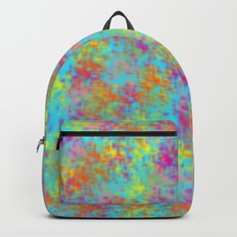 Blurry Colorful Backpack