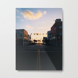 Venice Beach Classic Metal Print