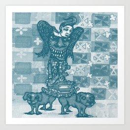 Dog Days Of  The Apocalypse Art Print
