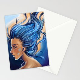 Blue Thoughts Stationery Cards