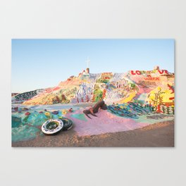 Salvation Mountain, Niland, CA Canvas Print