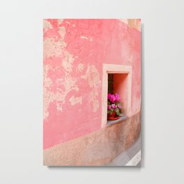 Flowers for Monterosso Metal Print