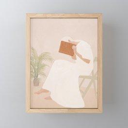 Lost Inside Framed Mini Art Print