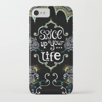 spice iPhone & iPod Cases featuring Spice by Melinda Francis
