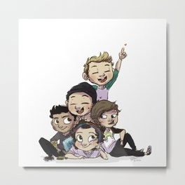 Pile of cute Metal Print