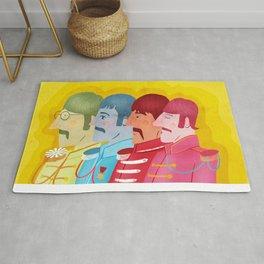 John, Paul George and Ringo Rug