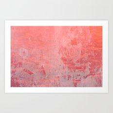 Pinky Pink Art Print
