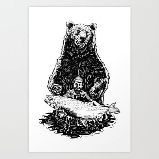 Bearware Art Print