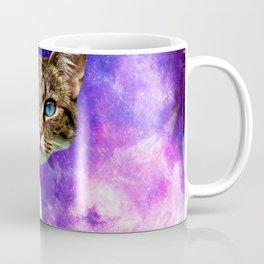 cat Fuck you finger galaxy Coffee Mug