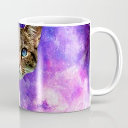 cat Fuck you finger galaxy Coffee Mug