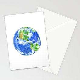 Earthly goodness Stationery Cards