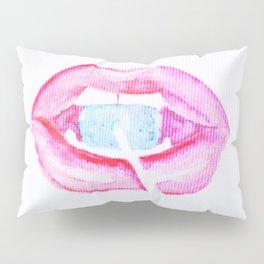 Neon Lolli Lips Pillow Sham