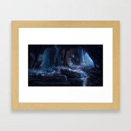 River Styx Framed Art Print
