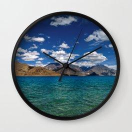 Evening Blues...Pangong Lake Wall Clock