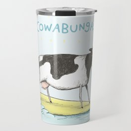 Cowabunga! Travel Mug
