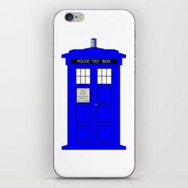 British Police Box iPhone Skin