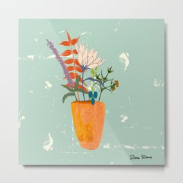 Still life with wildflowers Metal Print