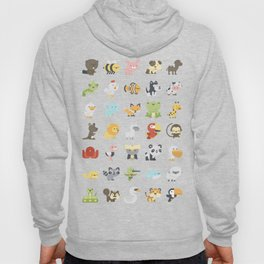 CUTE BABY ANIMAL PATTERN Hoody