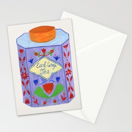 Colorful Tea Box Stationery Cards