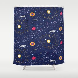 Way to Earth Shower Curtain