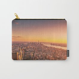 New York City Sunset Skyline Carry-All Pouch
