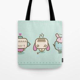 ♥ r o b o t s ♥ Tote Bag