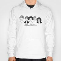 the strokes Hoodies featuring The Strokes by ☿ cactei ☿