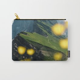 Mountain view Seceda in the Italian Dolomites Carry-All Pouch