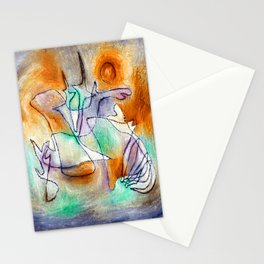Paul Klee Howling Dog Stationery Cards