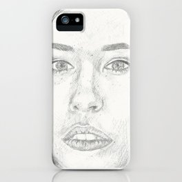 Nicole Maines iPhone Case