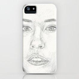 Nicole Maines iPhone Case