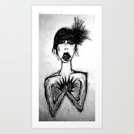 Greta Gray Art Print