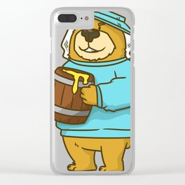 bee beekeeper beekeeper beekeeper gift honey beekeeping Clear iPhone Case