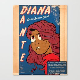 Boneheaded: Diana Dante Canvas Print