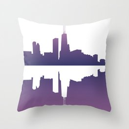 Chicago Afternoon Throw Pillow