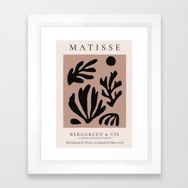Henri Matisse Print, Matisse Exhibition Poster, Matisse Leaf Framed Art Print