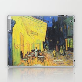 Café Terrace at Night by Vincent van Gogh Laptop & iPad Skin