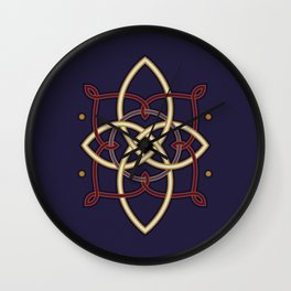 Ostara Tarot I Wall Clock