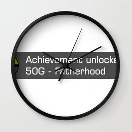 Achievement Wall Clock