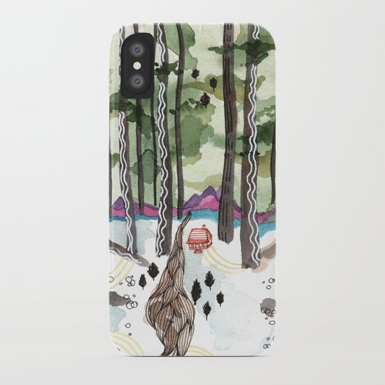 Bagby Trail iPhone Case