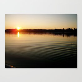 Up North Wisconsin Canvas Print