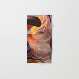 Geology Alive - Time Passage of Upper Antelope Canyon Hand & Bath Towel