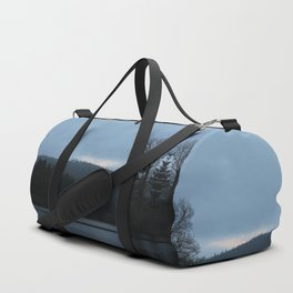 Morning Over The Invisible Lake Duffle Bag