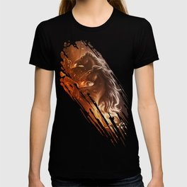 Fire with Horses T-shirt