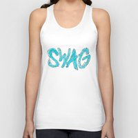 swag Tank Tops featuring Swag by Creo