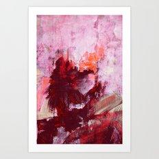landscape - rosyredorange Art Print