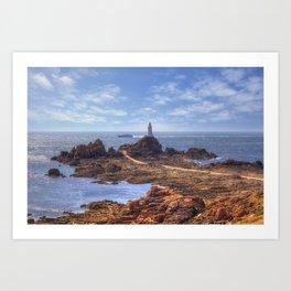 Channel Island - Jersey Art Print
